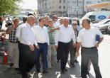 Batur Sanayi Esnafıyla Buluştu