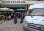 Toros Kapalı Pazaryerine Uaşıma Ücretsiz Servis Çözümü